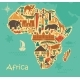 Traditional Symbols of Africa - GraphicRiver Item for Sale