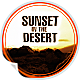 Sunset In The Desert - VideoHive Item for Sale