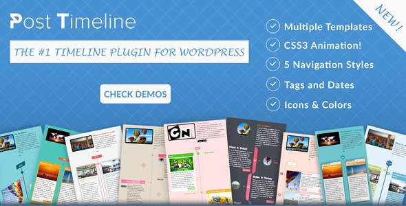 CodeCanyon Post Timeline WordPress Plugin 20515596
