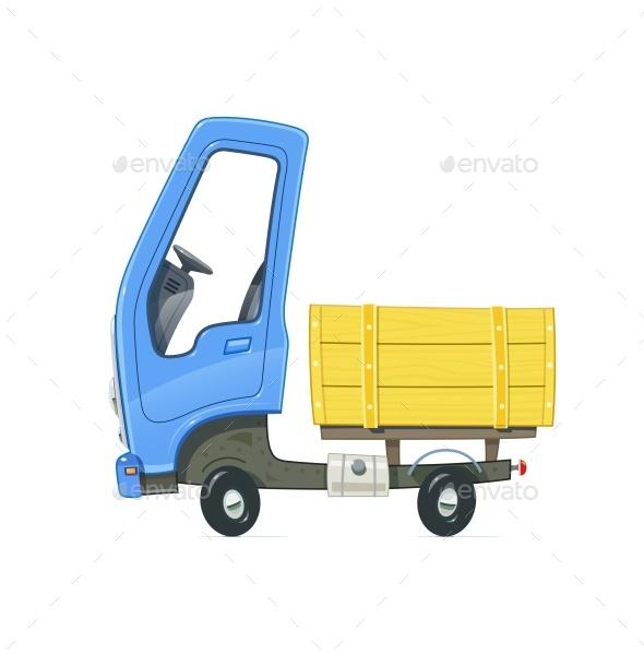 Small Truck - Vectors