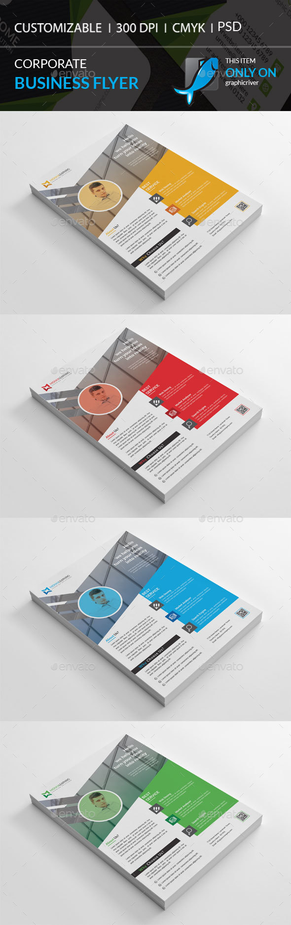 GraphicRiver Corporate Flyer 20516056