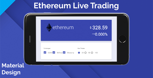 Ethereum Live Trading - CodeCanyon Item for Sale