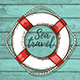 Travel Background with Lifebuoy - GraphicRiver Item for Sale