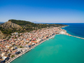 Aerial  view of Zakynthos city in  Zante island, in Greece - PhotoDune Item for Sale