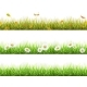 Grass in Different Seasons Set - GraphicRiver Item for Sale