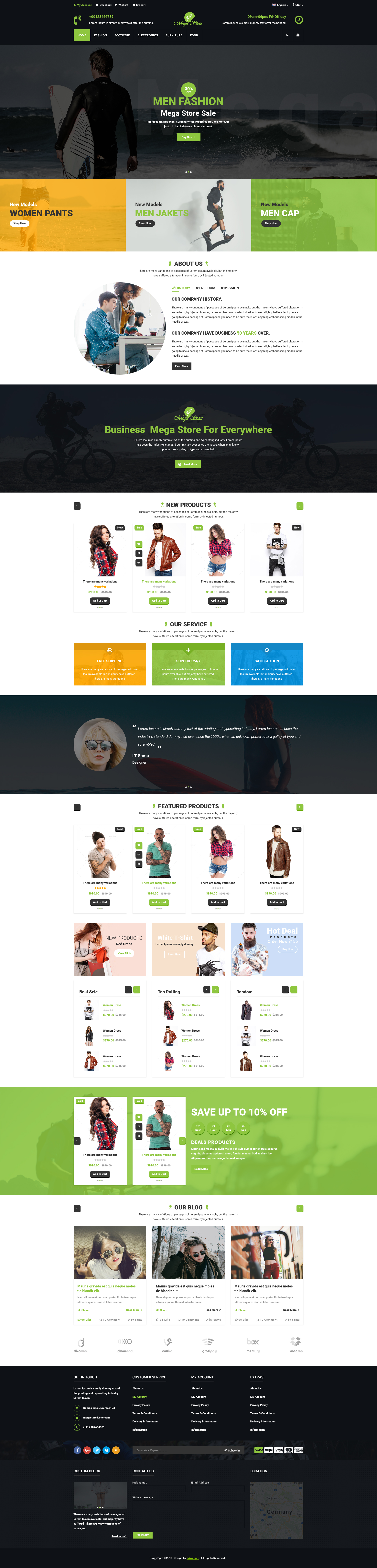 Mega store e commerce psd template by 24webpro themeforest img01previewg cheaphphosting Images