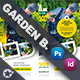 Garden Landscape Bundle Templates