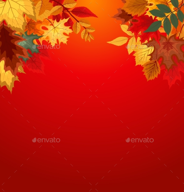 Abstract Vector Illustration Background - Flowers & Plants Nature