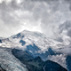 Dramatic view of Mont Blanc mountain, French Alps - PhotoDune Item for Sale