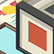 Vector Isometric Low Poly Frames - GraphicRiver Item for Sale