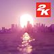 3D Sunrise Over New York 17