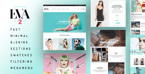 Eva - Responsive Shopify Theme (Sections Ready)