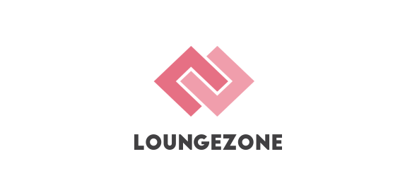 Loungezone banner pink