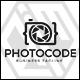 Photo Code  - Camera Logo - GraphicRiver Item for Sale