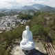 Aerial Survey Big Buddha Statue - VideoHive Item for Sale