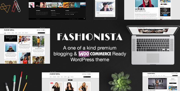 Fashionista - Responsive WordPress Blog & Shop Theme - Blog / Magazine WordPress