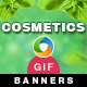 Cosmetic Animated GIF Banners