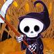 Grim Reaper on Corn Maze