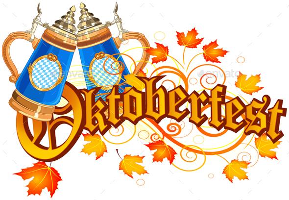 Oktoberfest Celebration design - Decorative Vectors