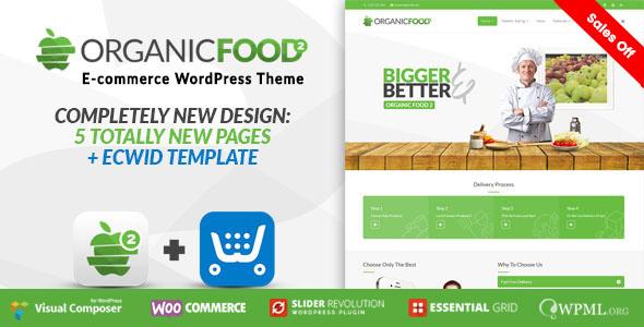 Organic Food - Farm & Food Business Eco WordPress Theme