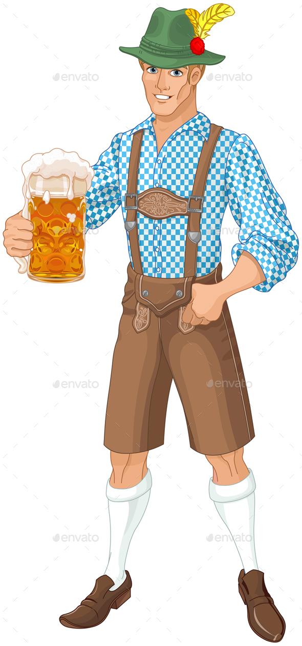 GraphicRiver Oktoberfest Guy 20518727