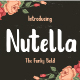 Nutella - GraphicRiver Item for Sale