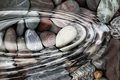 Water ripples over the stone pebbles - PhotoDune Item for Sale