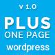 Plus - One Page Marketing Portfolio WordPress Theme - ThemeForest Item for Sale