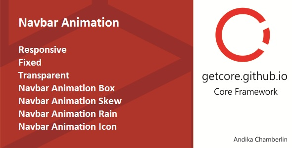 Navbar Animation - CodeCanyon Item for Sale
