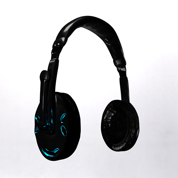 Headphone - 3DOcean Item for Sale
