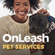 OnLeash | Dog Walking & Pet Services - ThemeForest Item for Sale