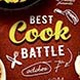 Cook Battle Flyer Template