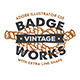 18 Hipster Vintage Badges - GraphicRiver Item for Sale