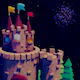 Toon Castle At Night Pack - VideoHive Item for Sale