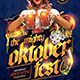 Oktoberfest Flyer Template V11 - GraphicRiver Item for Sale