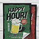Classic Happy Hour Flyer