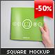 Square Brochure Mock-up - GraphicRiver Item for Sale