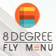 8Degree Fly Menu - Responsive Off-Canvas Menu Plugin for WordPress