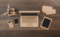Creative eco friendly cardboard office - PhotoDune Item for Sale
