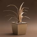 Decorative plant made of cardboard - PhotoDune Item for Sale