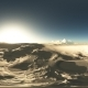 VR 360 Degree Aerial Panorama of Desert