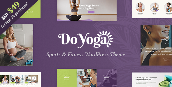 Do Yoga - Fitness Studio & Yoga Club WordPress Theme - Health & Beauty Retail