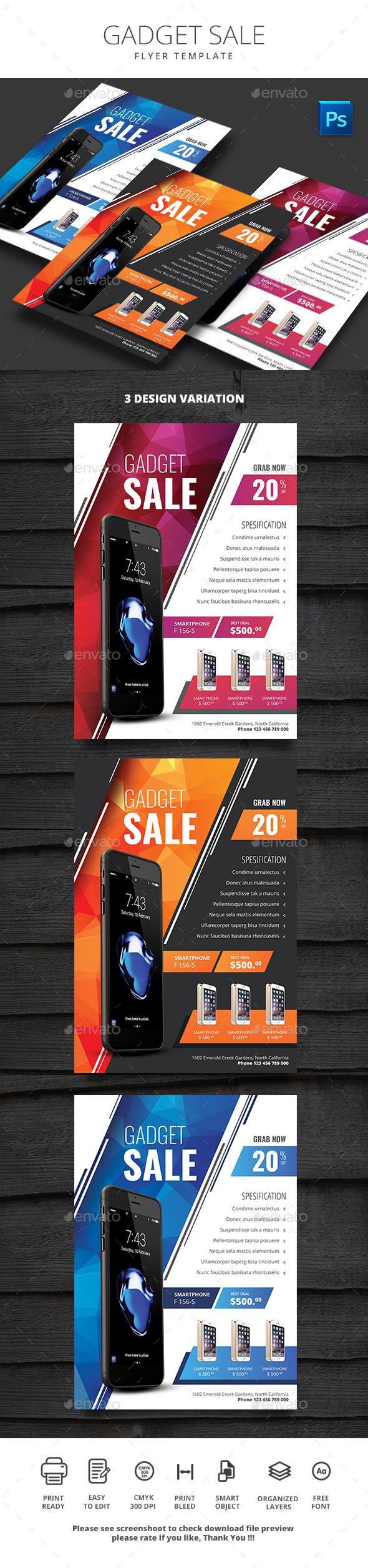 Gadget Sale - Events Flyers