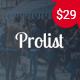 Prolist - Directory & Listing WordPress Theme - ThemeForest Item for Sale