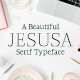 Jesusa Serif Typeface - GraphicRiver Item for Sale