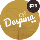 Despina - Coffee and Cake WordPress Theme - ThemeForest Item for Sale