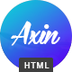 Axin - Clean One Page Template