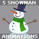 Snowman Animation Set - VideoHive Item for Sale