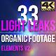 Light Leaks Elements 4K