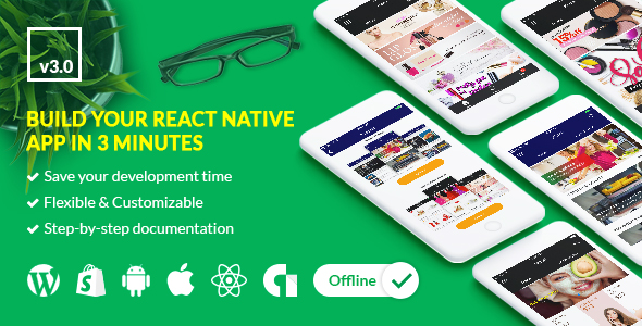 gikApp - React Native Full Application - CodeCanyon Item for Sale
